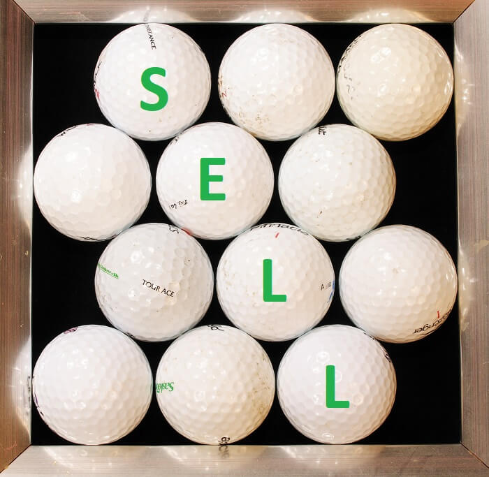 Sell Old Golf Balls