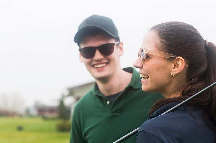 Eyewear for golf