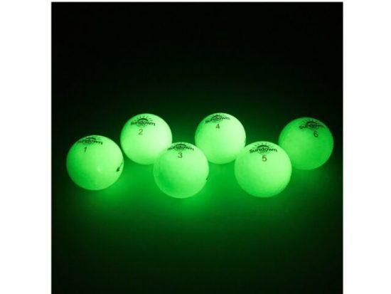 UV-powered golf ball